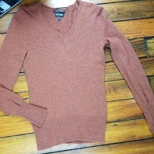 Apt 9 Womens Cashmere Sweater Long Sleeve  V-Neck